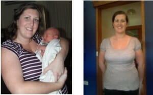 Jessica loses 12 kg