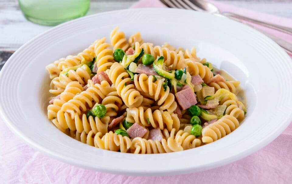 Ham And Pea Pasta
