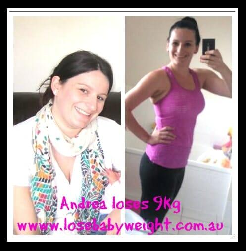 Andrea Has Lost 9kg