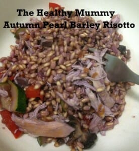 Autumn Pearl Barley Risotto
