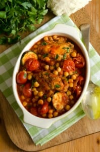 Chicken and Chickpea Delight
