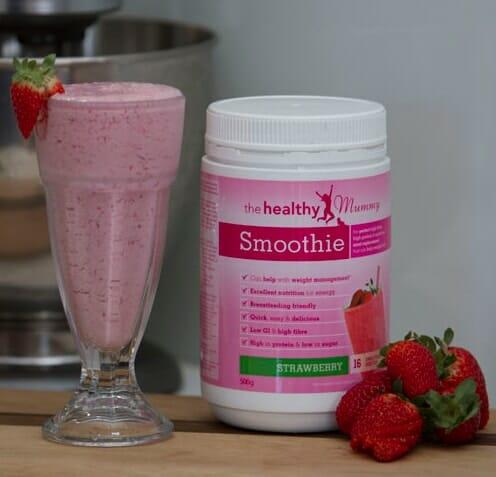 strawberry super smoothie