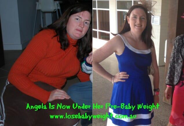 Angela Loses 9kg