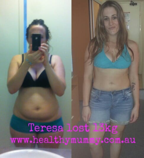 Teresa weight loss results