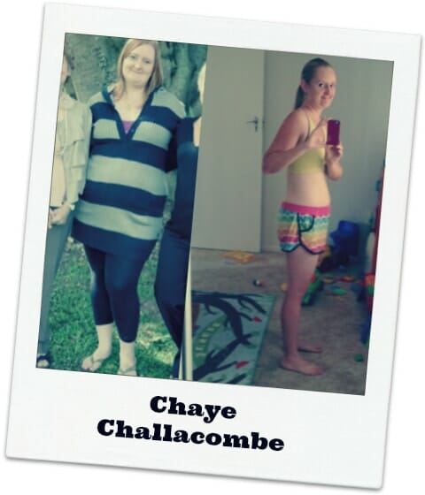 Chaye weight loss results