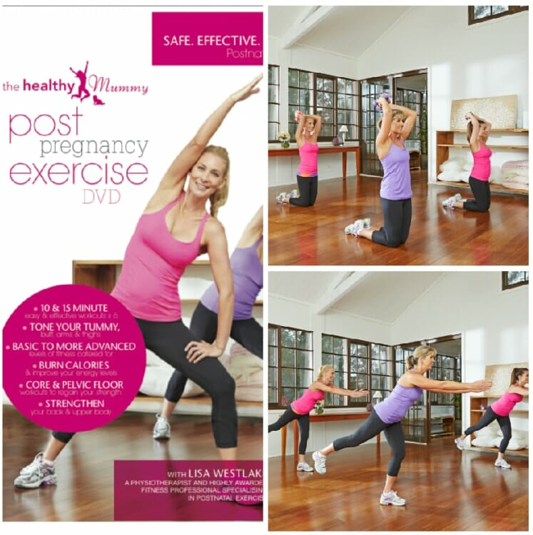 The Most Awarded Fitness Professionals In Australia Lisa Is Perfect Instructor To Bring Healthy Mummy Post Pregnancy Exercise Dvd