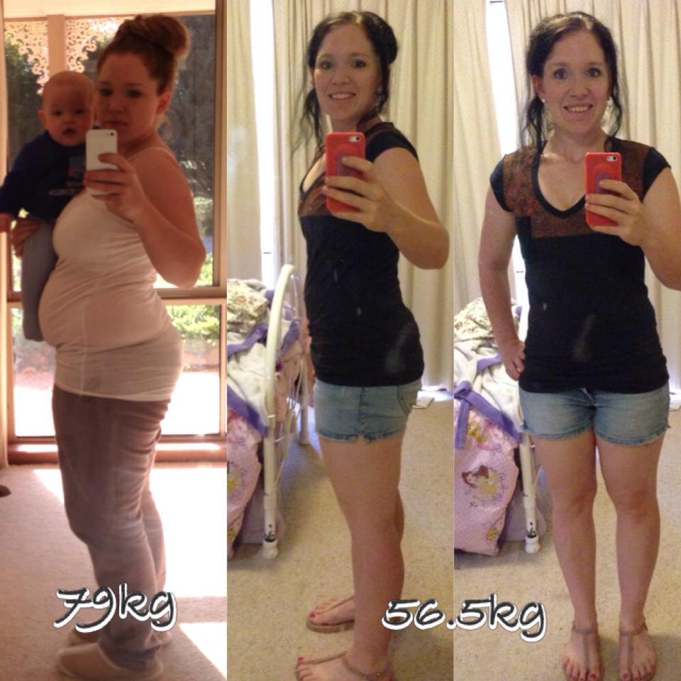 Kat Loses 23kg