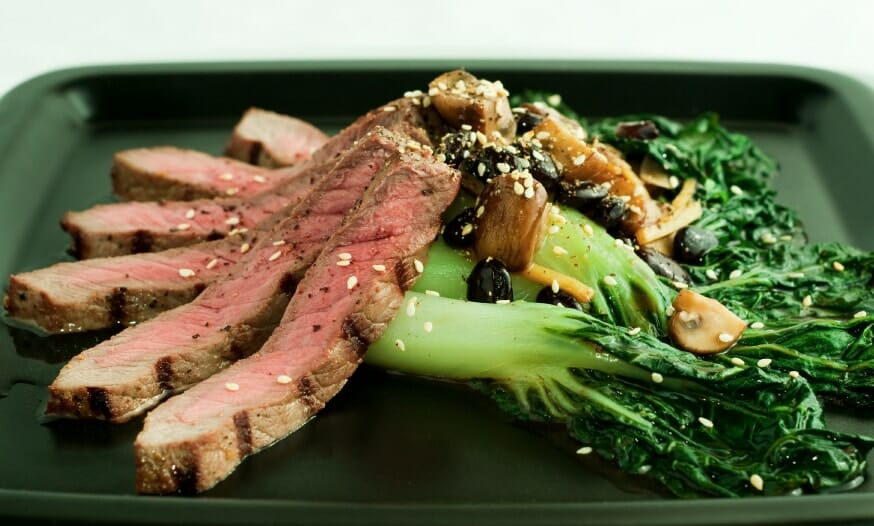 Beef With Asian Greens