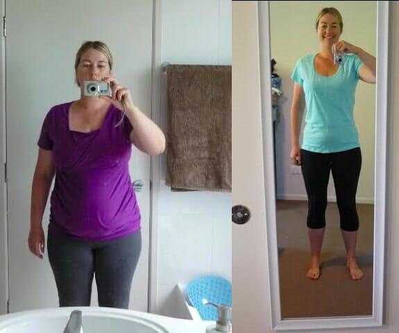 Candice 26kg loss