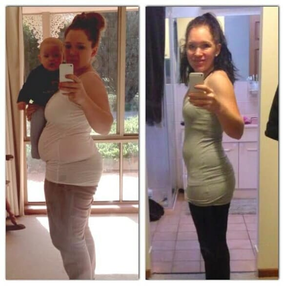 Kat's 23.5kg Weight Loss Result