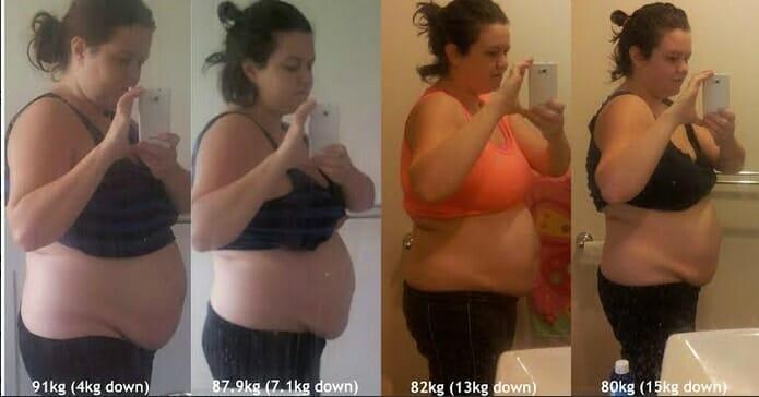 Sara Has Lost 15kg