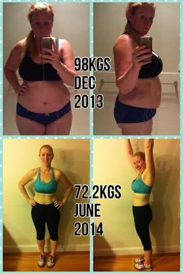 jodie 25kg weight loss