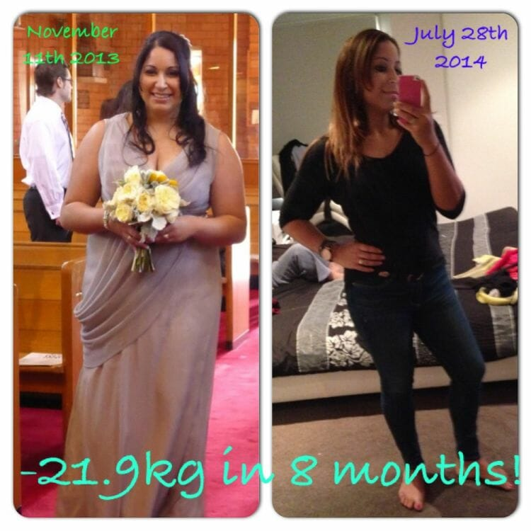 Davina's Amazing 22kg Weight Loss