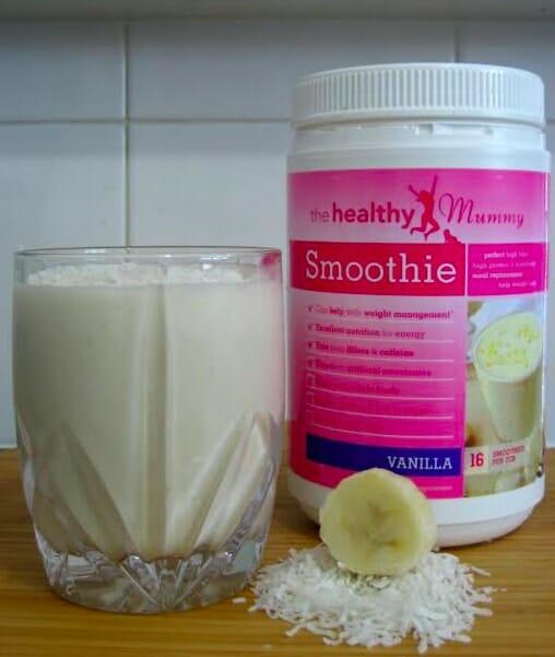 Creamy Banana & Coconut Smoothie