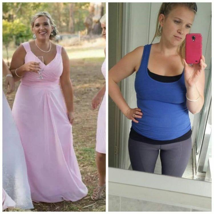 Cate Porter Mum of 3 Loses 10kgs