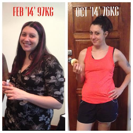 Jess Has Lost 21kg