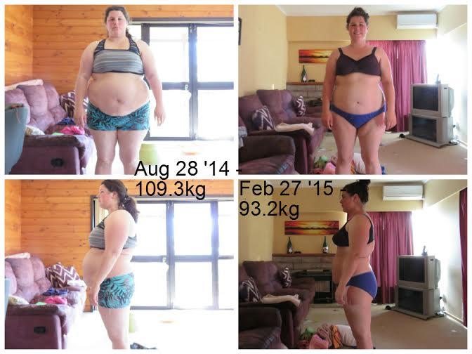 Carmen Has Lost 18kg