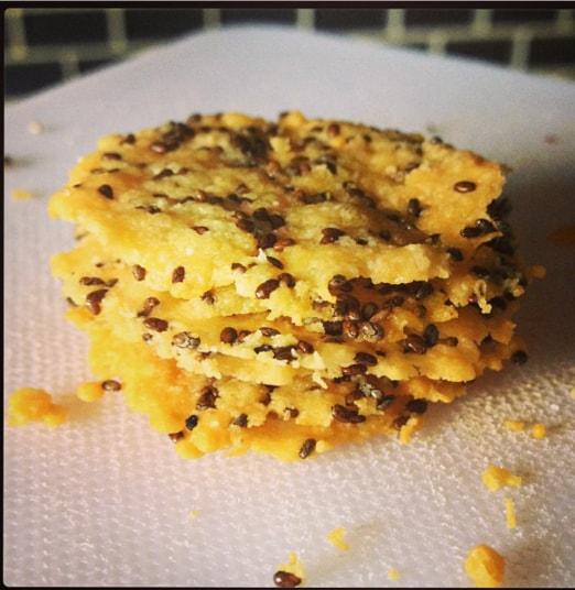 Parmesan & Chia Crisps