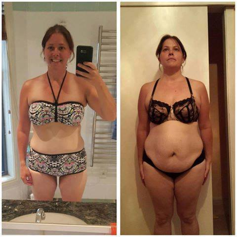 See Results From Mums Losing Tummy Fat