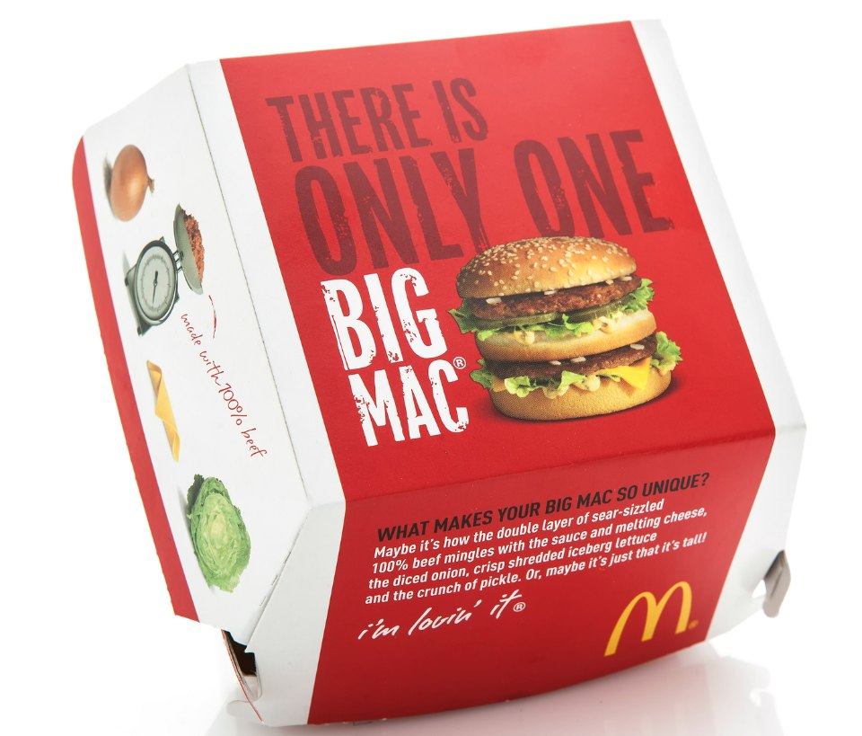 What's in a big Mac