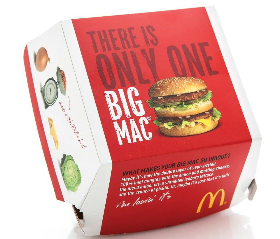 What's in a big Mac