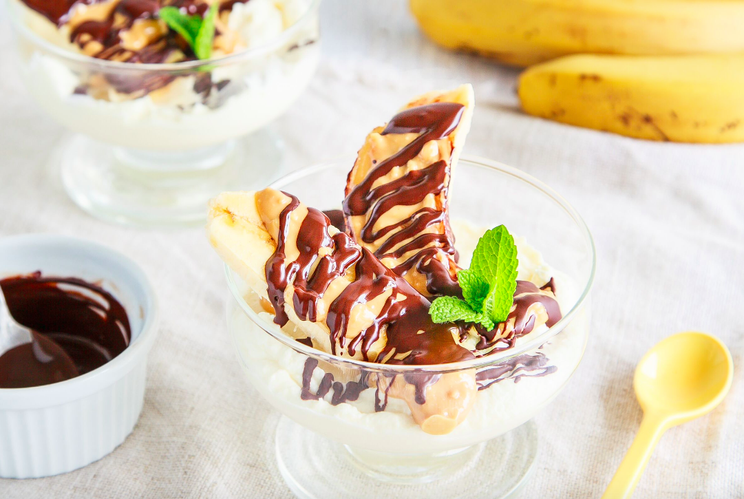 Choc Banana Split
