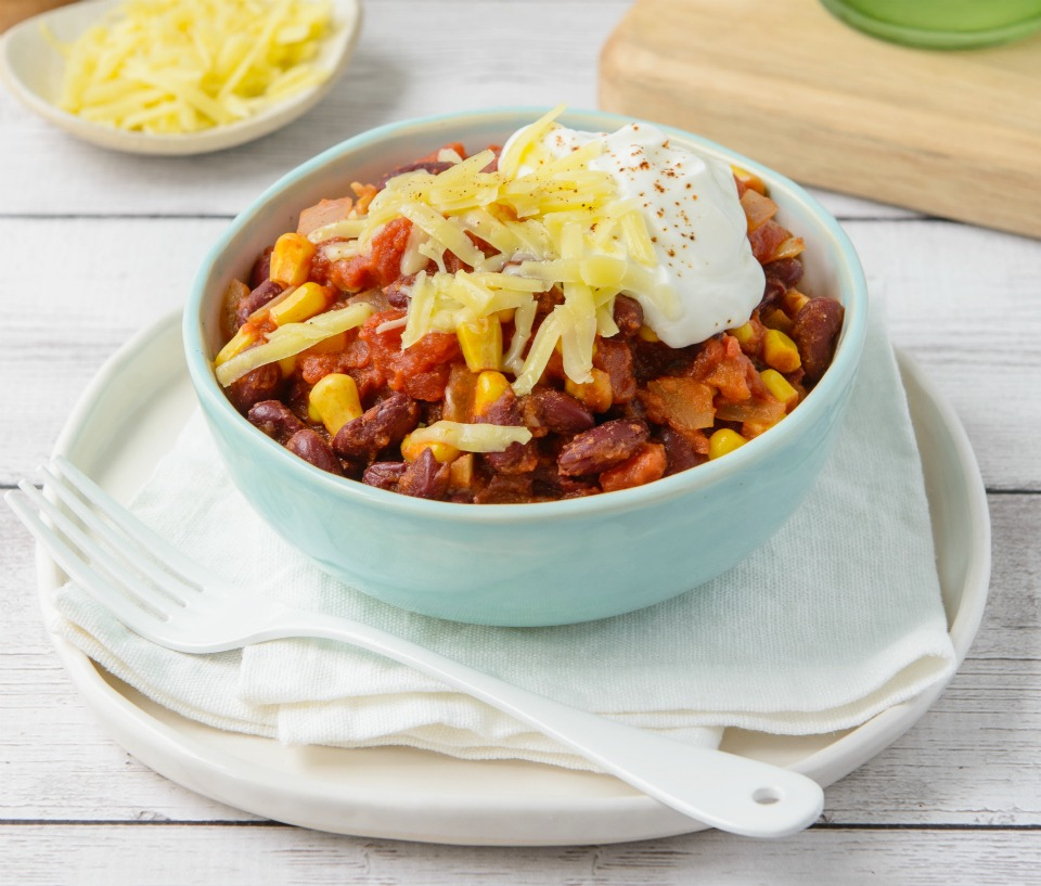 A Very Simple Vegetarian Chilli