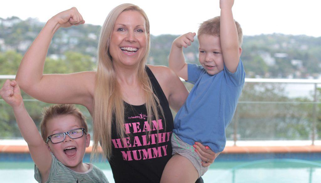 The healthy mummy parenting page slider - Rhian plus boys