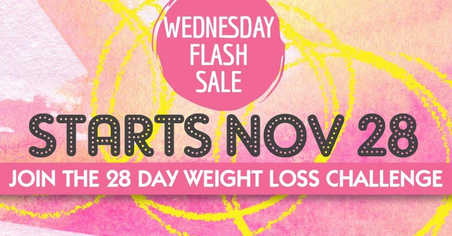 28 Day Challenge Flash