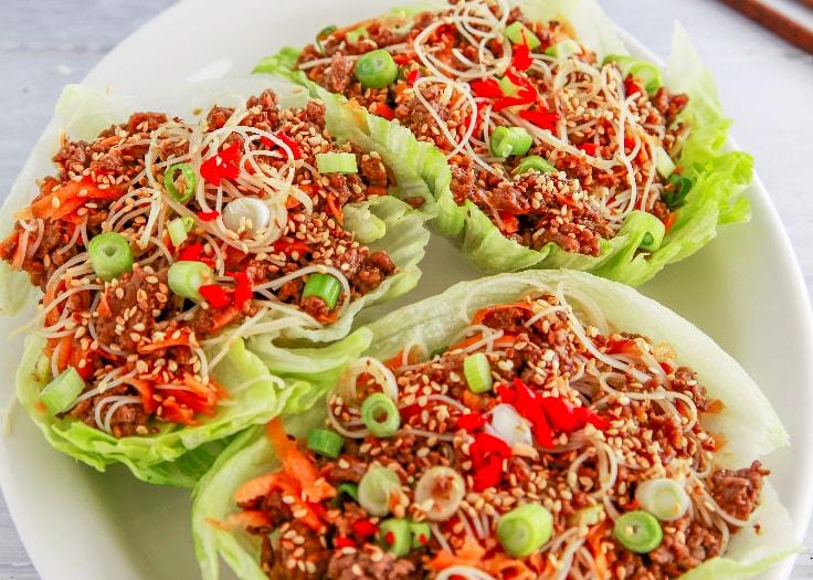 Beef San Choy Bow