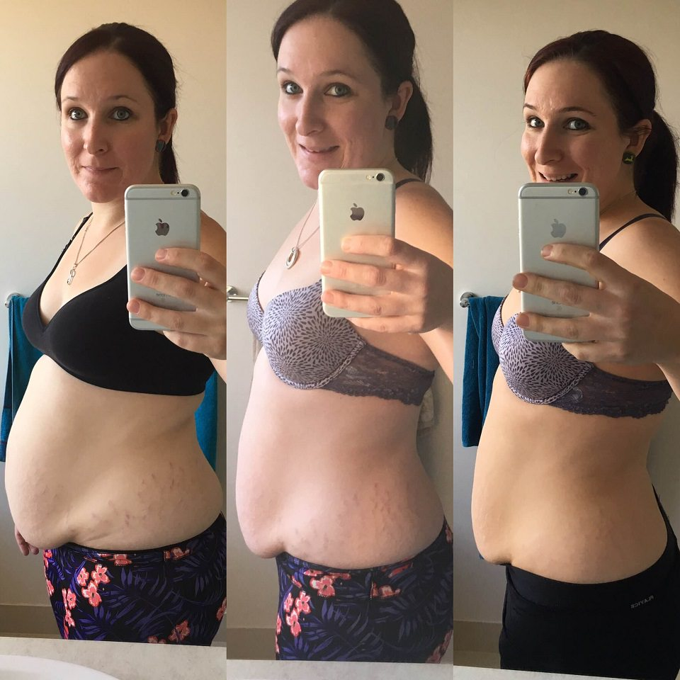 Courtney mum of 4 weight loss results