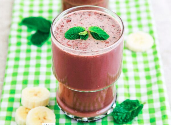 Healthy Choc Banana Bliss Smoothie