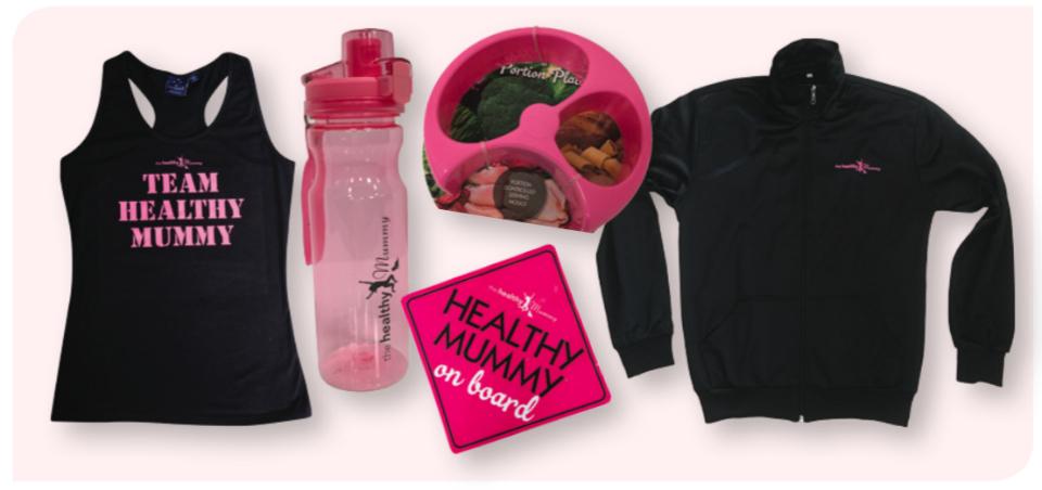 Healthy Mummy merchandise