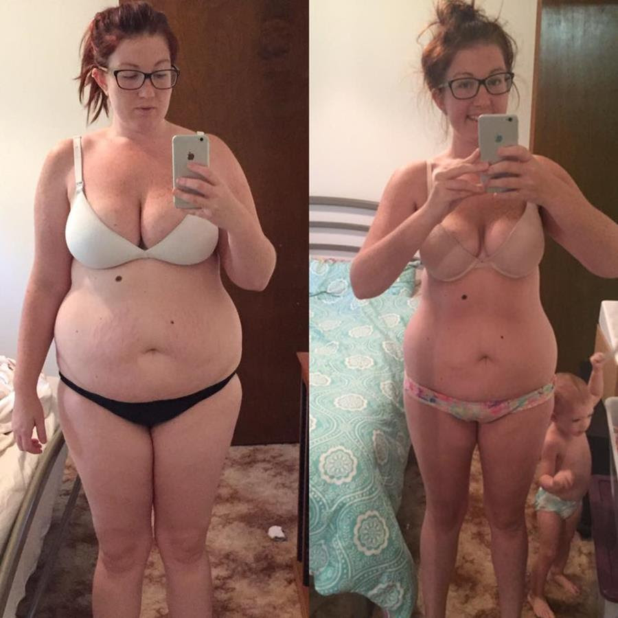 Jayde weight loss results