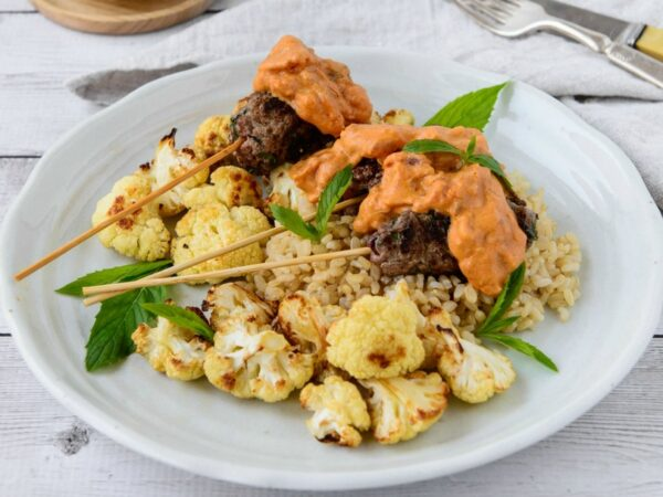 Kangaroo Kofta With Cauliflower & Masala Sauce
