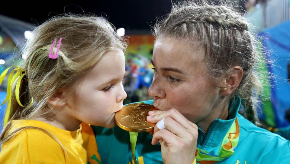 Nicole Beck, olympic mum