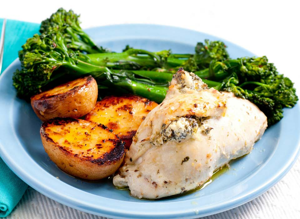 Spinach chicken