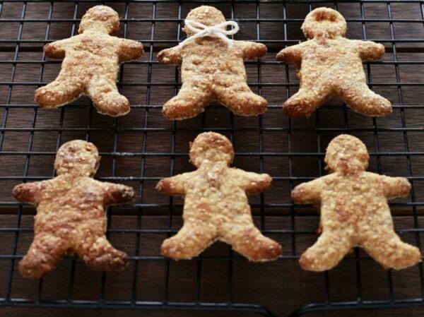 Healthy Gingerbread People