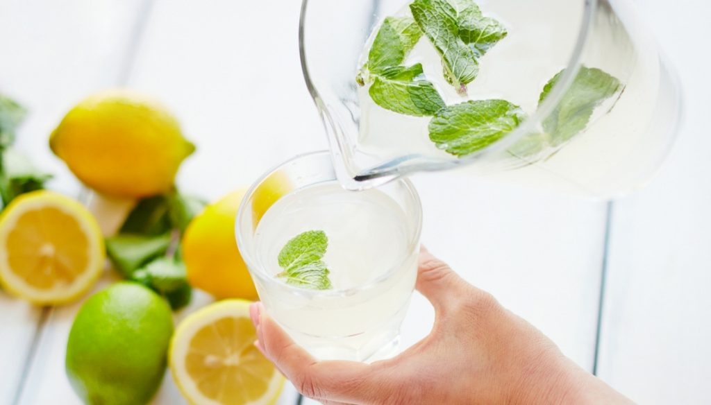 Healthy Mummy Health category slider - lemon water