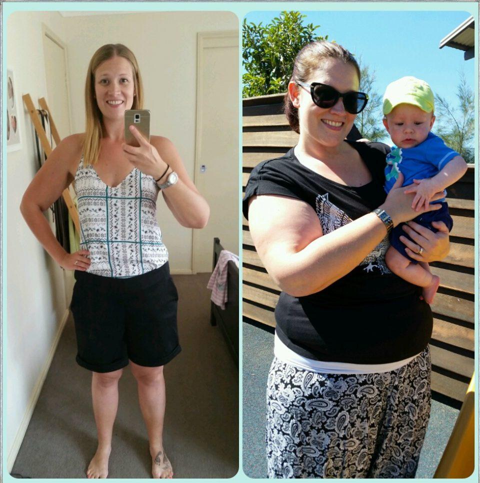tamara loses 37kg using healthy mummy