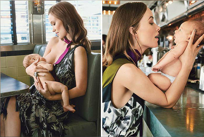 7 Celebs Who've Shared And Celebrated Breastfeeding Olivia Wilde