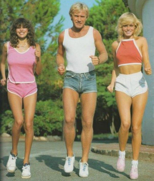 70's workout fashion