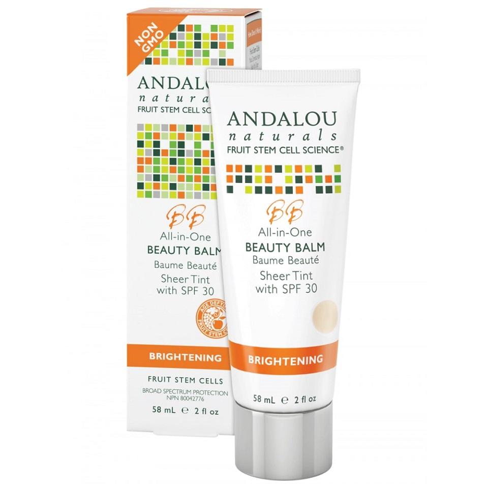 Andalou Brightening Beauty Balm Sheer Tint SPF30+