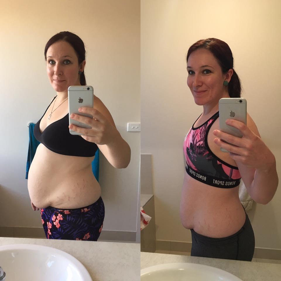 Lose belly fat bikini