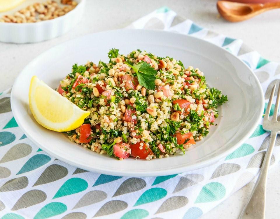 Easy Quinoa Tabouli