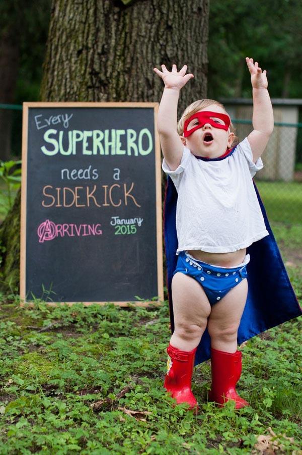 hero sidekick preg announcement
