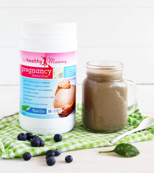 Healthy Mummy Pregnancy Chocolate Smoothie