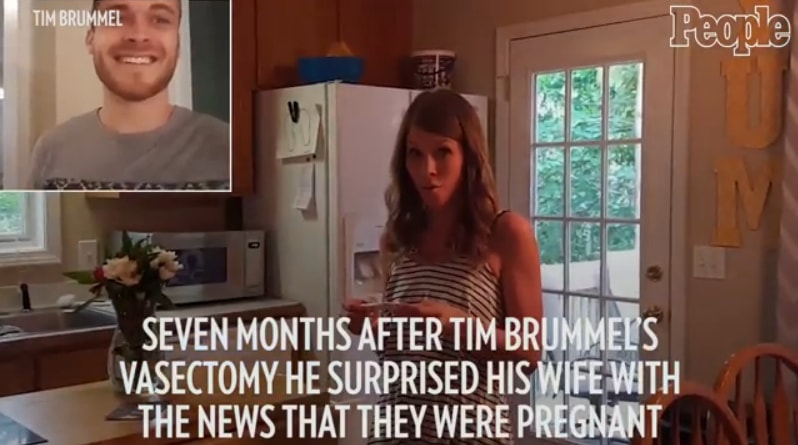 Husband Surprises Wife With Pregnancy, After A Vasectomy