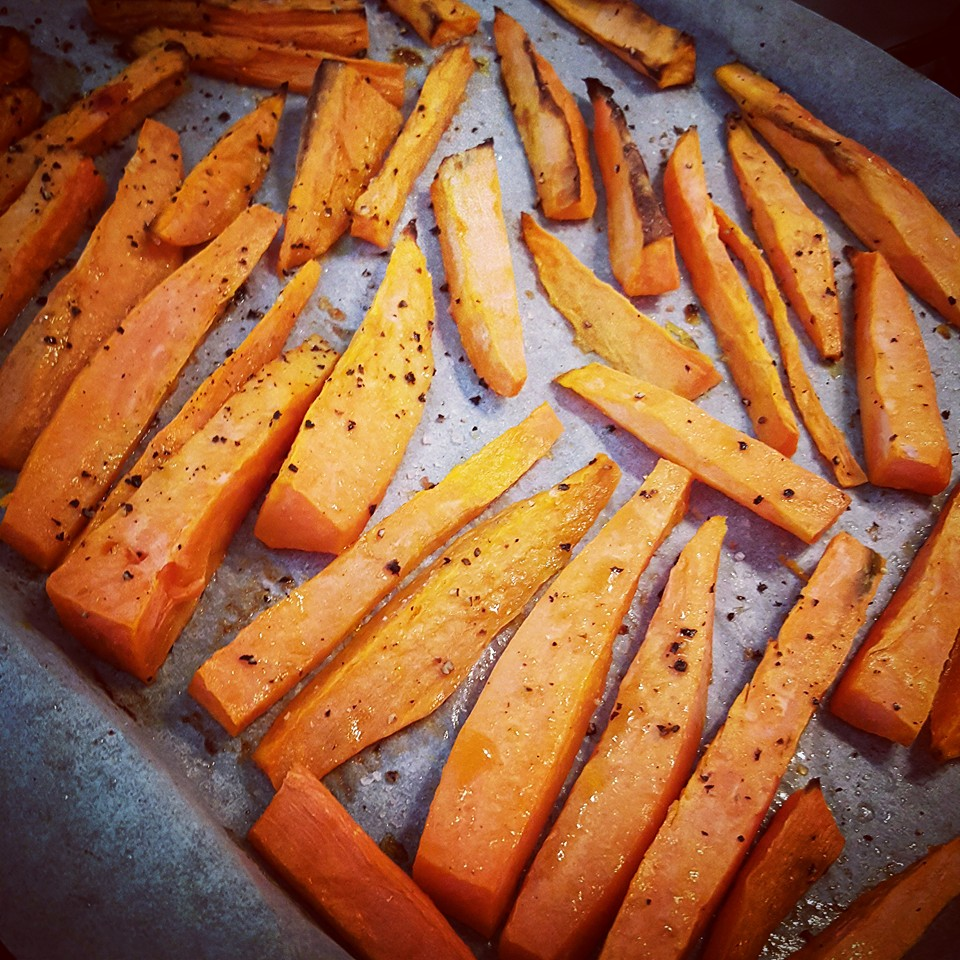 Best way to cook sweet potato chips