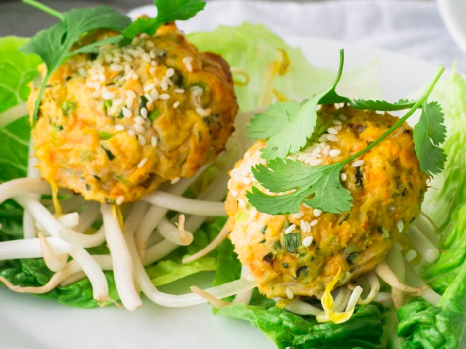 Spring fresh healthy thai fish cakes forumfinder Choice Image